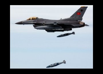 Turkey Bombs PKK Positions