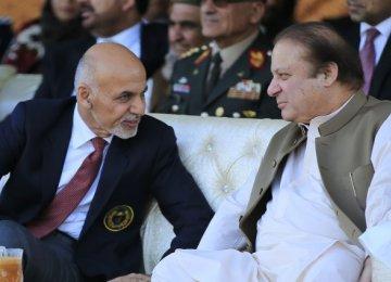 Pakistan PM in Kabul