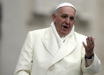 Pope Speaks Out Against Insulting Religions