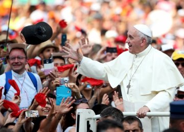 Pope Francis Tours Home Continent