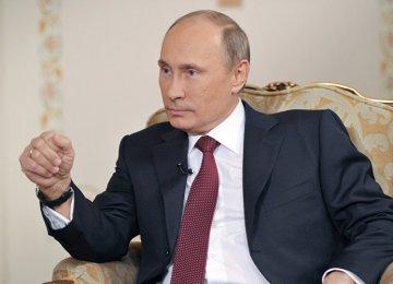 Putin Urges Unity Against Terror