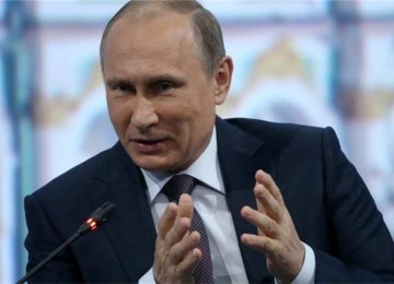 Putin Reiterates Support  for Syrian President