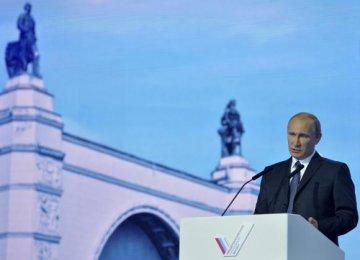 Putin: US will Never Subdue Russia