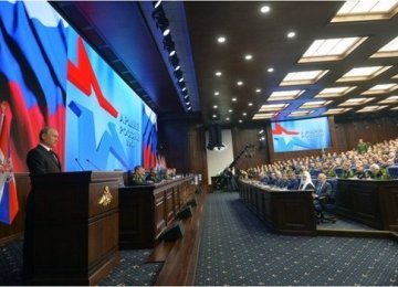Russia 'Won't Be Intimidated' Over Crimea