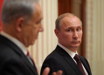 Putin, Netanyahu to Discuss ME
