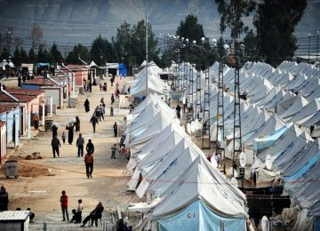 13.6m Displaced  by Wars in Iraq, Syria