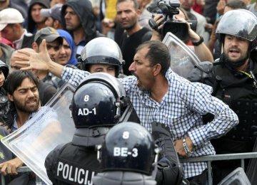 Migrants Reach Slovenia