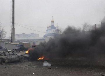 Rockets Kill 15 in Mariupol