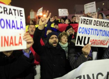 Mass Protests in Romania
