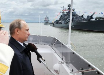 Russia Sees Arctic as Naval Priority
