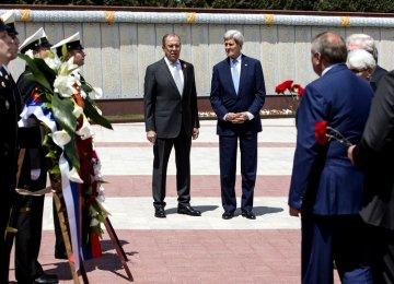 Kerry in Russia to Meet Putin, Lavrov