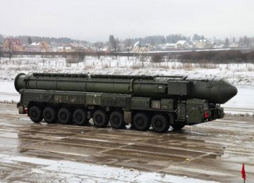 Russia to Fully Renew Nuclear Forces by 2020