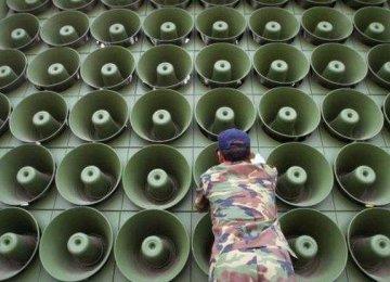 Koreas Hold Talks to Ease Tension
