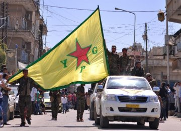 Syrian Kurds Recapture Key Town From IS
