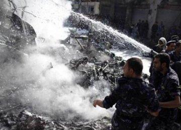 Dozens Killed in Syria Jet Crash
