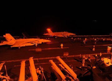 US, 4 Arab States Bomb IS Positions in Syria