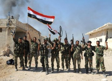 IS Retreating in Syria