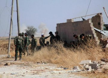 Syrian Army Launches Aleppo Operation