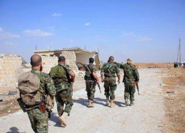Syrian Army Advances Near Aleppo