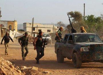US-Trained Rebels Gave  Millitary Equipment to Al-Qaeda