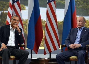 Putin, Obama Trade Barbs  at Syria-Focused Meeting