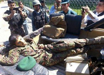 Taliban Kill 18 Afghan Soldiers