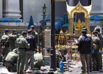 Malaysia Arrests Suspects Over Bangkok Blast