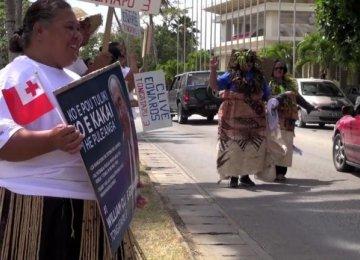 Half MPs Dumped in Tonga Vote