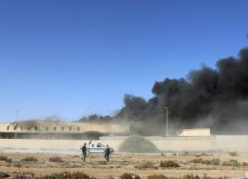 Fresh Air Strikes Near Tripoli