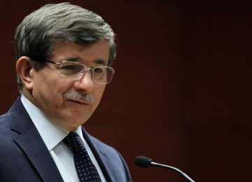 Davutoglu to Form Interim Gov't