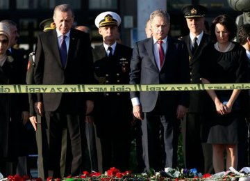 3 Top Police Officials Sacked Over Ankara Bombings