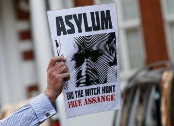 UK to Protest Assange Asylum