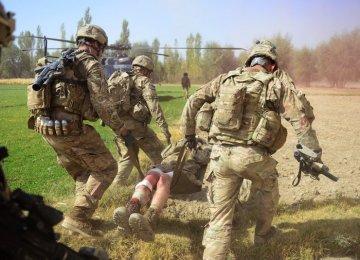 US Friendly Fire Kills Afghan Troops