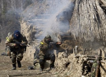 US Troops in Ukraine  Could Reignite Fighting