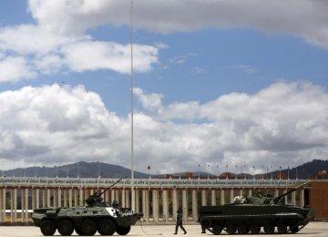 Venezuela Military Exercise