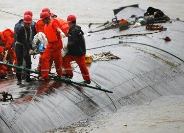400 Dead in Yangtze River Disaster