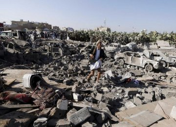 Saudi-Led Warplanes Bomb Yemen Hours Before Ceasefire