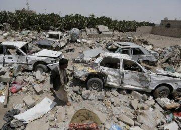 Saudi-Led Airstrikes Target Sanaa