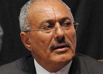 Saleh Says Exiled Hadi No Longer Relevant