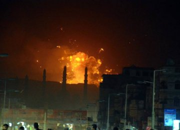 Saudi-Led Strikes on Yemen Continue