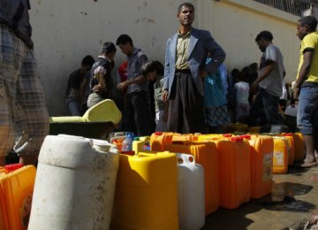 16m Yemenis Without Clean Water