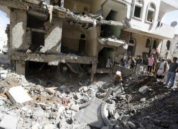Saudi-Led Strikes Kill Dozens in Yemen