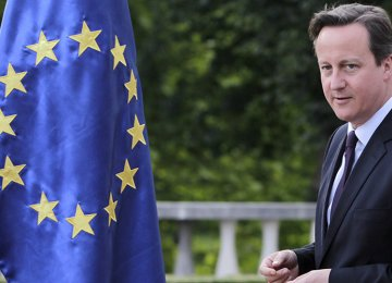Cameron's EU Referendum Bill  Passes in Commons
