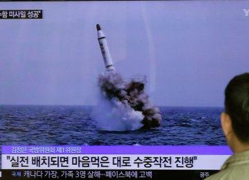 N. Korean Ballistic Missiles Not Nuclear