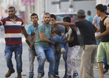 Palestinian Killed, Hundreds  Injured in West Bank