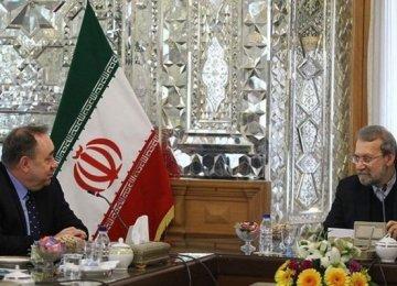 Salmond Leads Bid to Boost Scottish Links With Iran