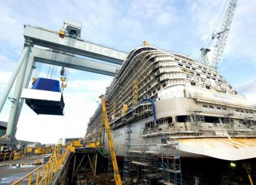 Marine Agreements With Italy's Fincantieri