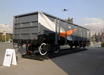 Russia Unveils Wagons for Iran Export