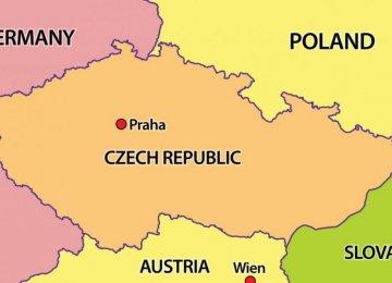 Czech Delegation  En Route