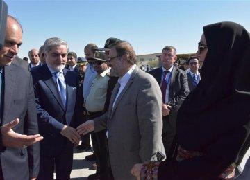 Chabahar Focus of Abdullah's Iran Visit
